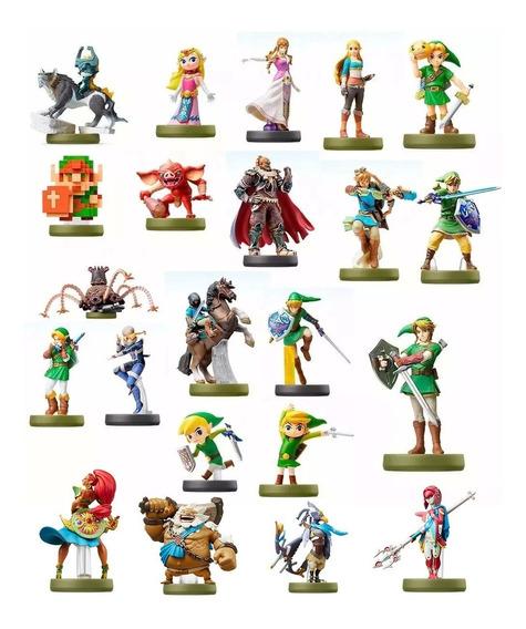 Amiibo - 22 Zelda Botw + 11 Mario Odyssey Pronta Entrega