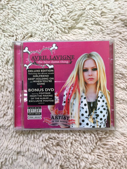 Avril Lavigne Deluxe Edition Importado - Tbdt