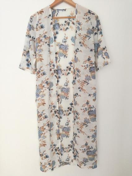 Kimono Largo De Moda