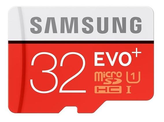 Cartão Micro Sd 32gb Samsung 80mb/s Class10