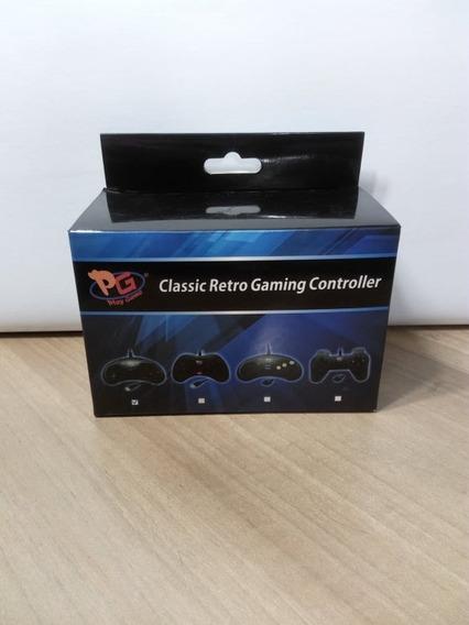 Classic Retro Gaming Controller Mega Drive