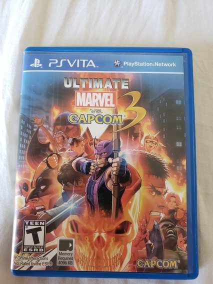 Ultimate Marvel Vs Capcom Psvita