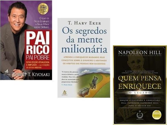 Pai Rico Pai Pobre+ Segredos Da Mente Milionária+ Quem Pensa