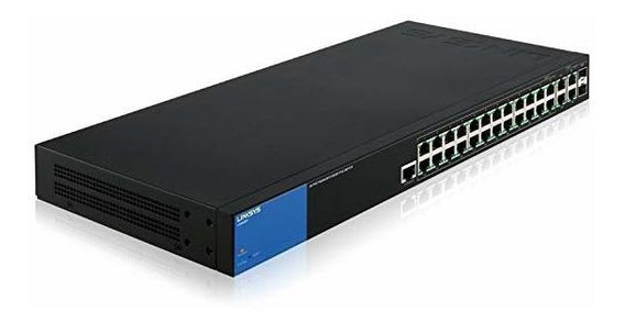 Switch Linksys 28-port Business Managed Gigabit Poe+ Lgs52 ®