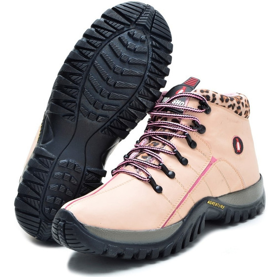 Adventure Bota Coturno Tenis Masc Fem Infant Adult Trilha.