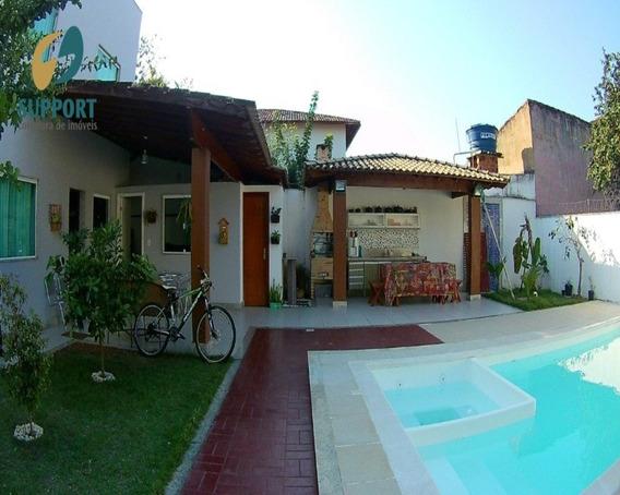Casa 04 Quartos Sendo 02 Suítes À Venda Na Praia Do Morro Em Guarapari - Support Imóveis - 1983 - 34418911