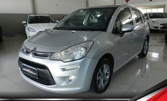 Citroen C3 Origine 1.5 Flex Manual Com Rodas Leds Faroletes