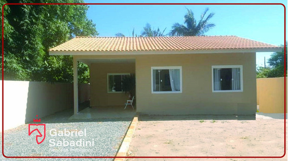 Casa Com 2 Dormitórios À Venda,70 M² - Brandalize, Itapoá Sc