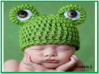 Gorros De Bebe Varon Tejidos A Crochet
