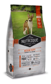 Nutrique Cachorro Raza Mediana X 12 Kg+ Regalo Sabuesosvet