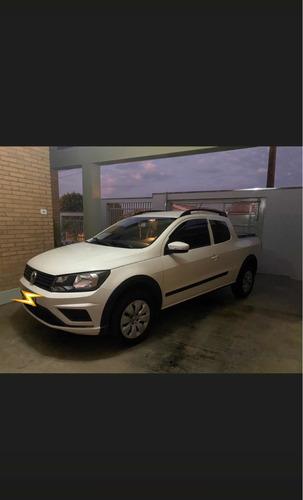 Imagem 1 de 6 de Volkswagen Saveiro 1.6 Trendline Cab. Dupla Total Flex 2p