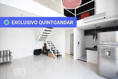 Apartamento No 6º Andar Mobiliado Com 1 Dormitório E 2 Garagens - Id: 892930601 - 230601