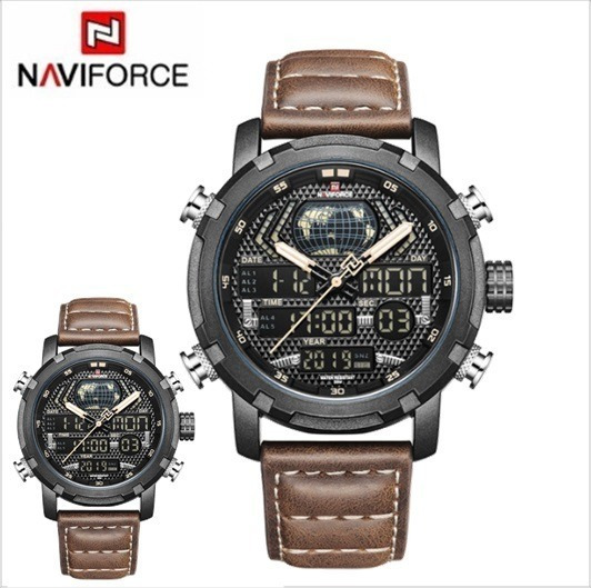 Relógio Naviforce Original Esportivo Todo Funcional