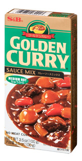 Golden Curry Sauce Curry Mix Japones Medium Hot