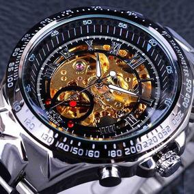 Relógio Importado Original Masculino Automático Aço Inox