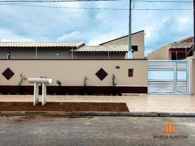 Casa Residencial À Venda, Jardim Regina, Itanhaém - Ca0042. - Ca0042