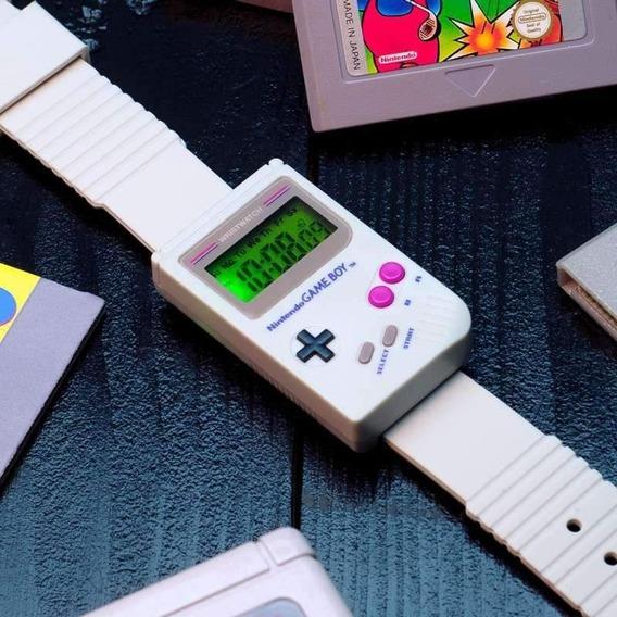 Reloj De Pulsera Game Boy Licencia Oficial