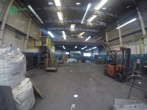 Galpão Industrial À Venda, Limão, São Paulo. - Ga0015