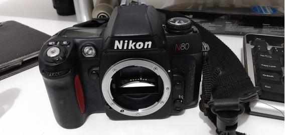 Câmera Nikon N80 Raríssima.