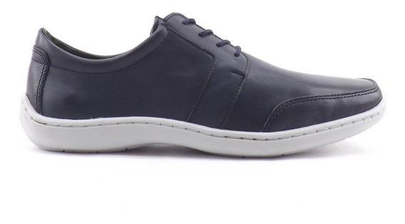 Zapatos Nautico Acordonado Hombre Darmaz Cuero Liquidacion