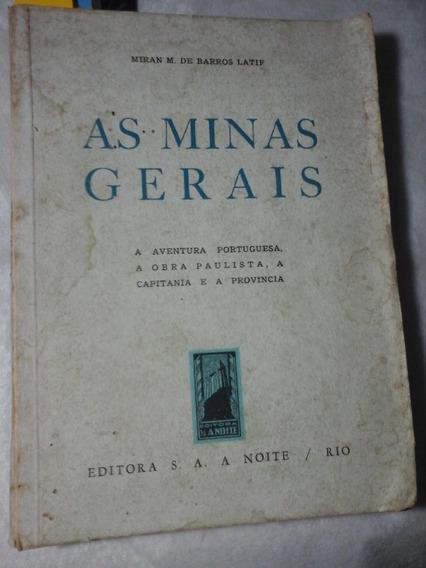As Minas Gerais Capitania Obras Paulistas Busca Do Ouro 1948