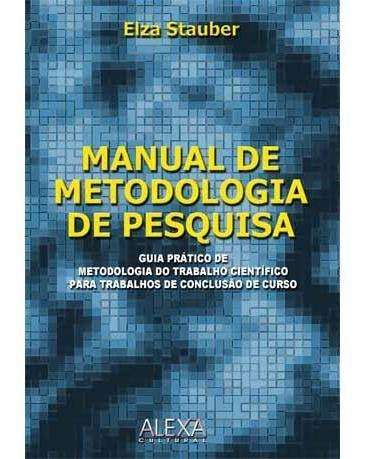 Imagem 1 de 1 de Manual De Metodologia De Pesquisa