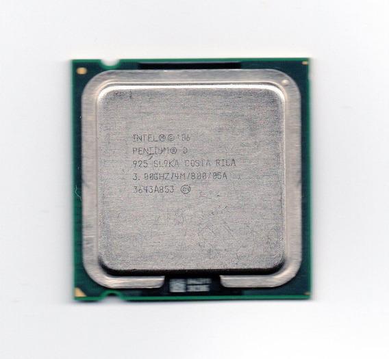 Processador Intel Pentium D 925 3.00ghz Lga 775 4mb Fsb 800