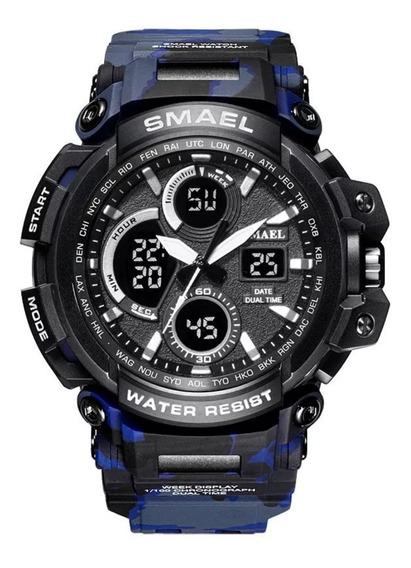 Relógio Masculino Smael S-shock 1708 Camuflado Prova D