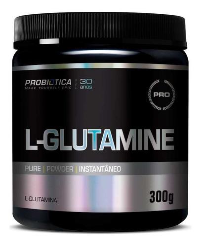 Imagem 1 de 3 de L-glutamine Glutamina 300g Pure - Probiótica
