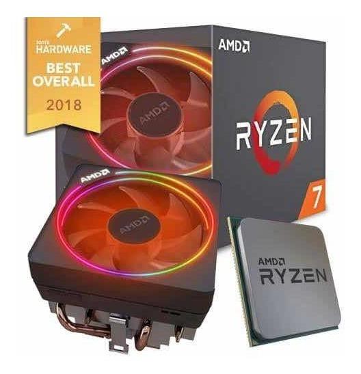 Ryzen 7 2700x Com Caixa, Cooler Rgb, Nf E Garantia