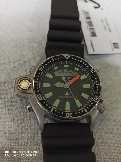 Relógio Citizen Aqualand Jp-2000 Jp2000-08e