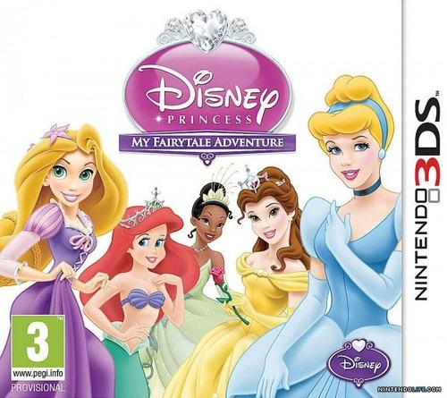 Juego Nintendo 3ds Princesas Disney - Original Fisico