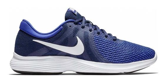 Tenis Nike Revolution 4 Azul Originales - 908988 414