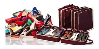 Organizador De Zapatos X 6 Hogar Y Viajes