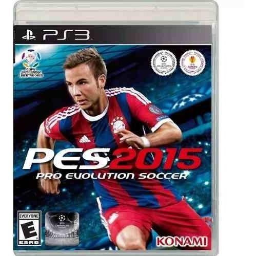 Jogo Pro Evolution Soccer 2015 - Pes 15 Novo Lacado - Ps3