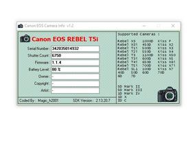 Canon T5i Corpo Com 6.7 Cliks