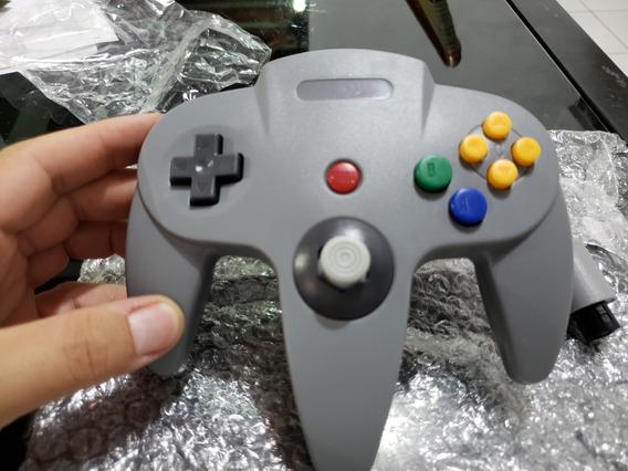 Kit 2 Controles N64 Nintendo 64 + Cabo Av_ Recife 12x S/j