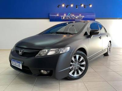 Honda Civic Lxl 1.8 - 2011 - Preta
