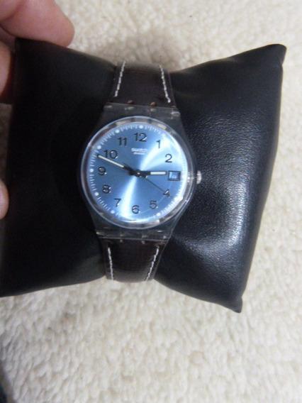 1 Relógio Swatch Swiss Quartzo Mod Ip-19 Eta Caixa 35x39 Mm