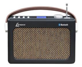 Radio Fm Retrô Preto Usb Aux Sd Bluetooth Rb90