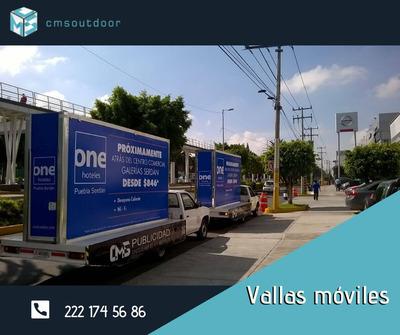 Renta De Vallas Móviles, Publicidad A Tu Alcance