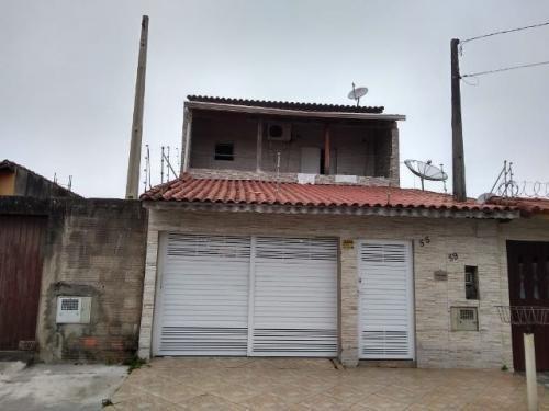 Casa Na Praia Com 2 Quartos Em Itanhaém/sp 7031-pc