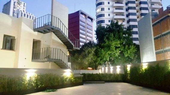 Departamento Renta Amueblado Polanco Seccion V Roof Garden En Petrarca 139