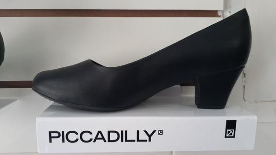 Uniforme Colégio Militar: Sapato Fem. Salto Médio 5cm Largo