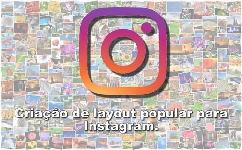 Criação De Layout Para Instagram