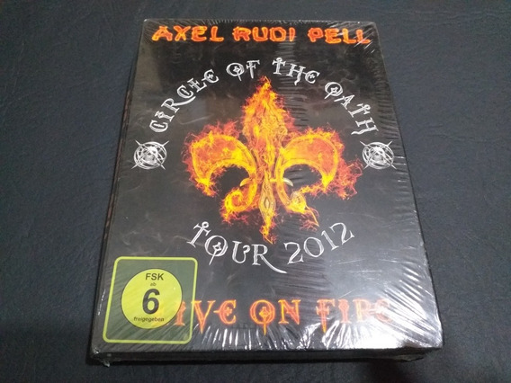 Axel Rudi Pell: Circle Of The Oath -tour Box. (helloween)