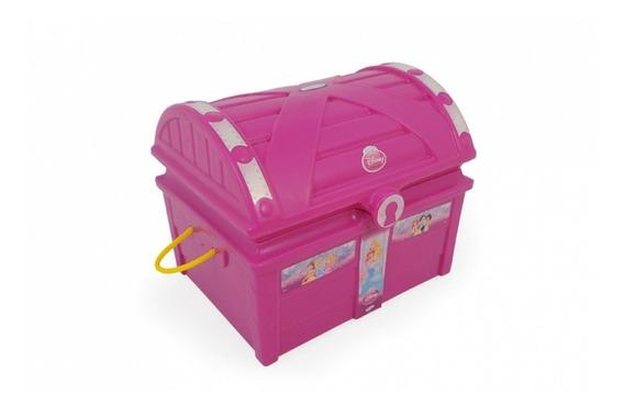 Baú Infantil Princesas Disney Xalingo Brinquedos Rosa I