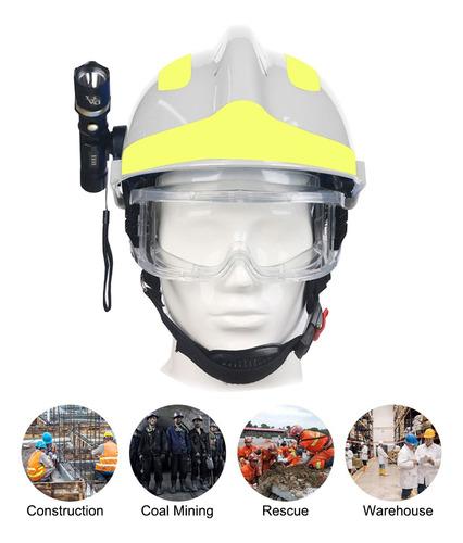 Imagen 1 de 6 de F2 Casco De Rescate De Emergencia Bomberos Cascos De Segurid