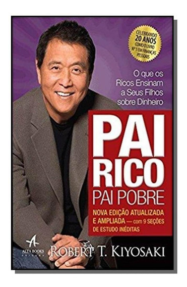 Livro Pai Rico, Pai Pobre - Edição 20 Anos - Robert Kiyosaki