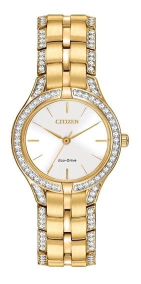 Reloj Citizen Eco-drive Original Para Dama Fe2062-58a
